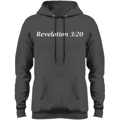 Revelation 3:20 Men's Pullover Fleece - THEGOODSHEPHERDSHIRTS.com