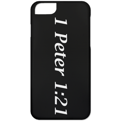 1 Peter 1:21 - iPhone 6 Case - THEGOODSHEPHERDSHIRTS.com