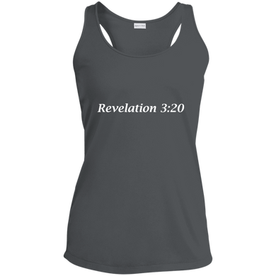 Revelation 3:20 Women's Moisture Wicking Tank - THEGOODSHEPHERDSHIRTS.com