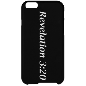Revelation 3:20 - iPhone 6 Plus Case - THEGOODSHEPHERDSHIRTS.com