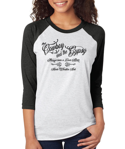 The Cowboy And The Gypsy (Unisex) Baseball Shirt