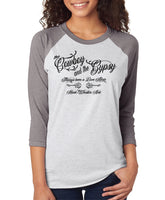 COWBOY & THE GYPSY (Unisex) Baseball Shirt