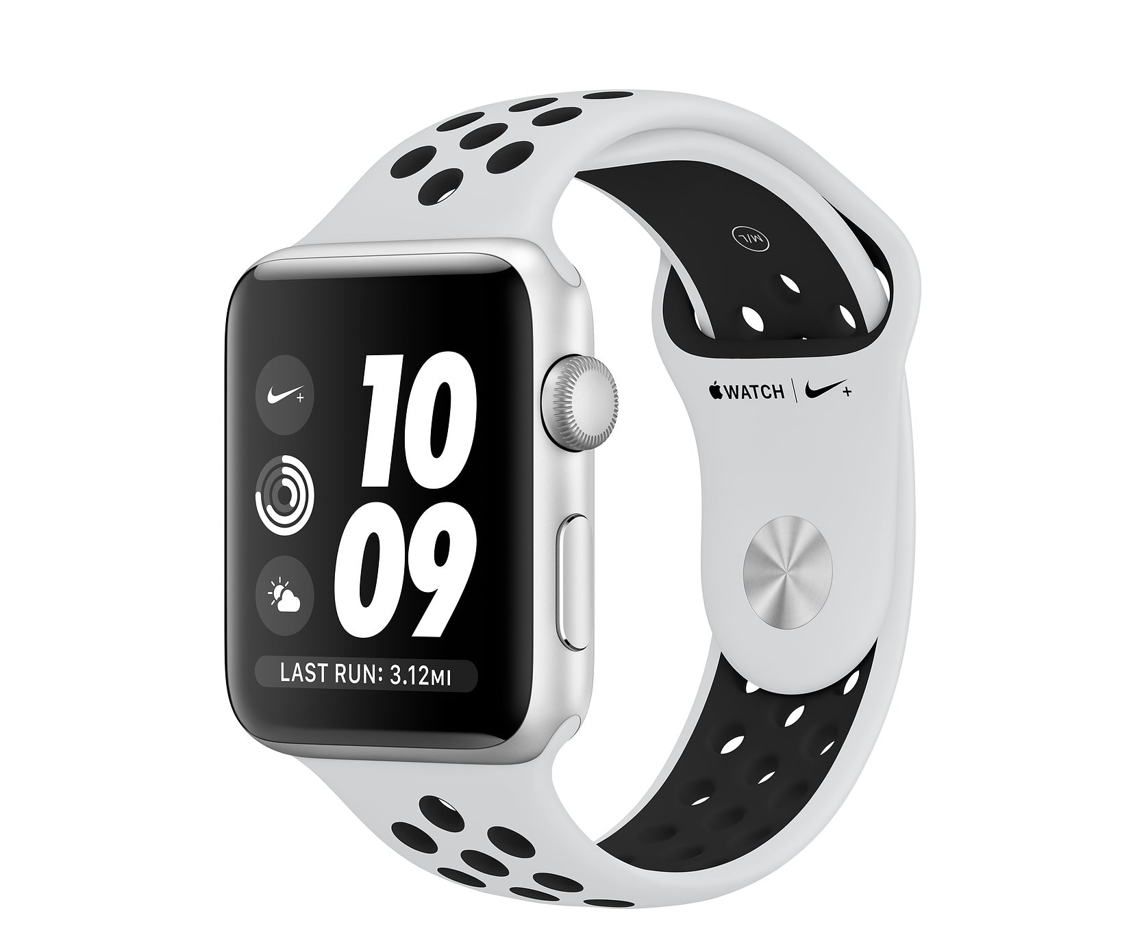 Mint+ Apple Watch Series 3 42mm with Nike Sports Band - Silver