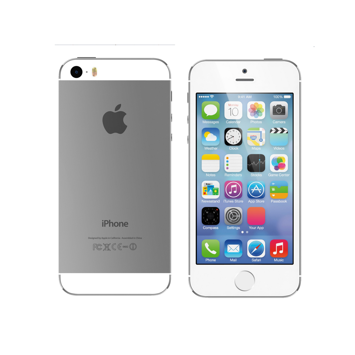 iPhone 5s 64GB Silver | Very Good