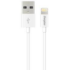 Energizer USB to Lightning 1.2m Cable 2.4Amp Silver