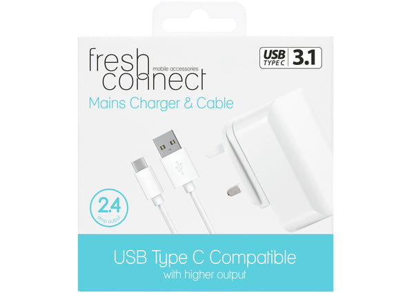 Fresh Connect Android Phone Charger 2.4 AMP €29.99
