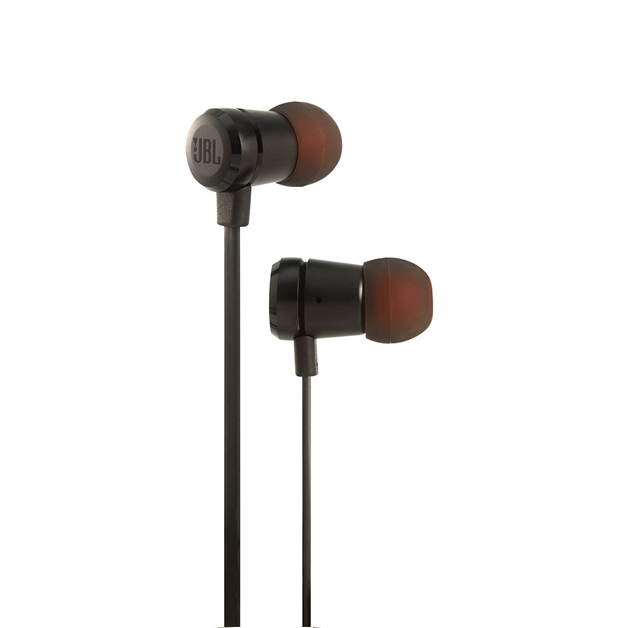 JBL T290 Earphones with Mic - Black