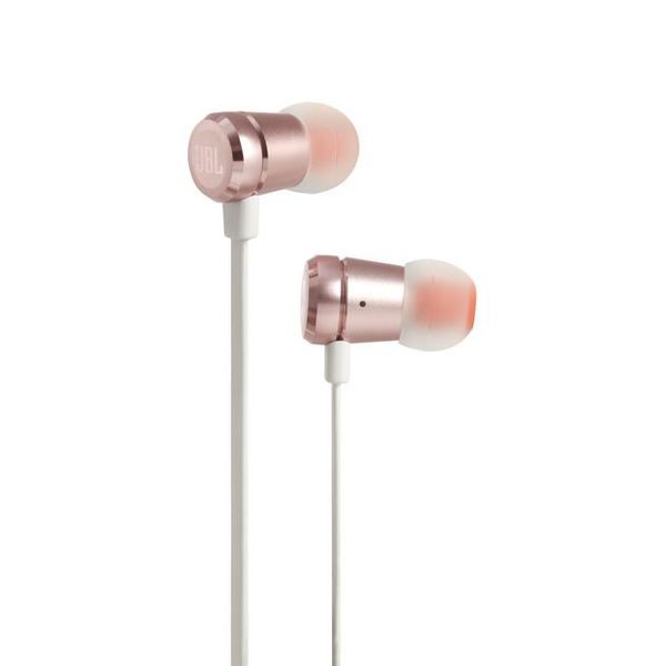 JBL T290 Earphones with Mic - Rose Gold