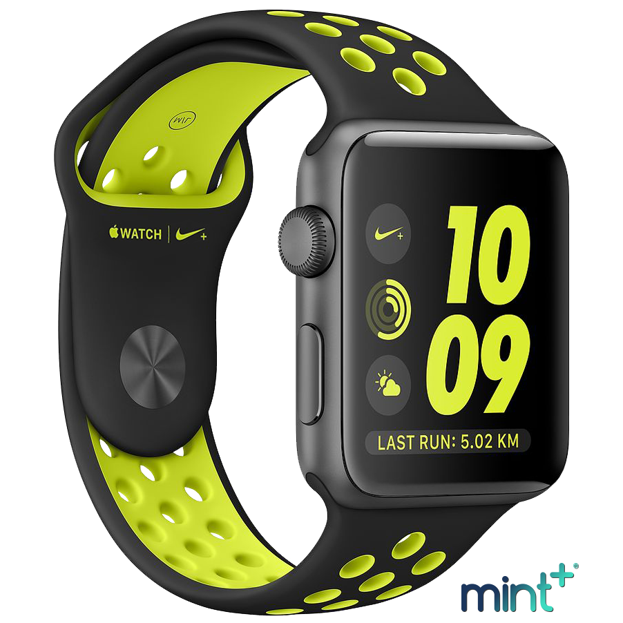 Mint+ Watch Series 2 Smartwatch with Nike+ - Space Grey 42MM