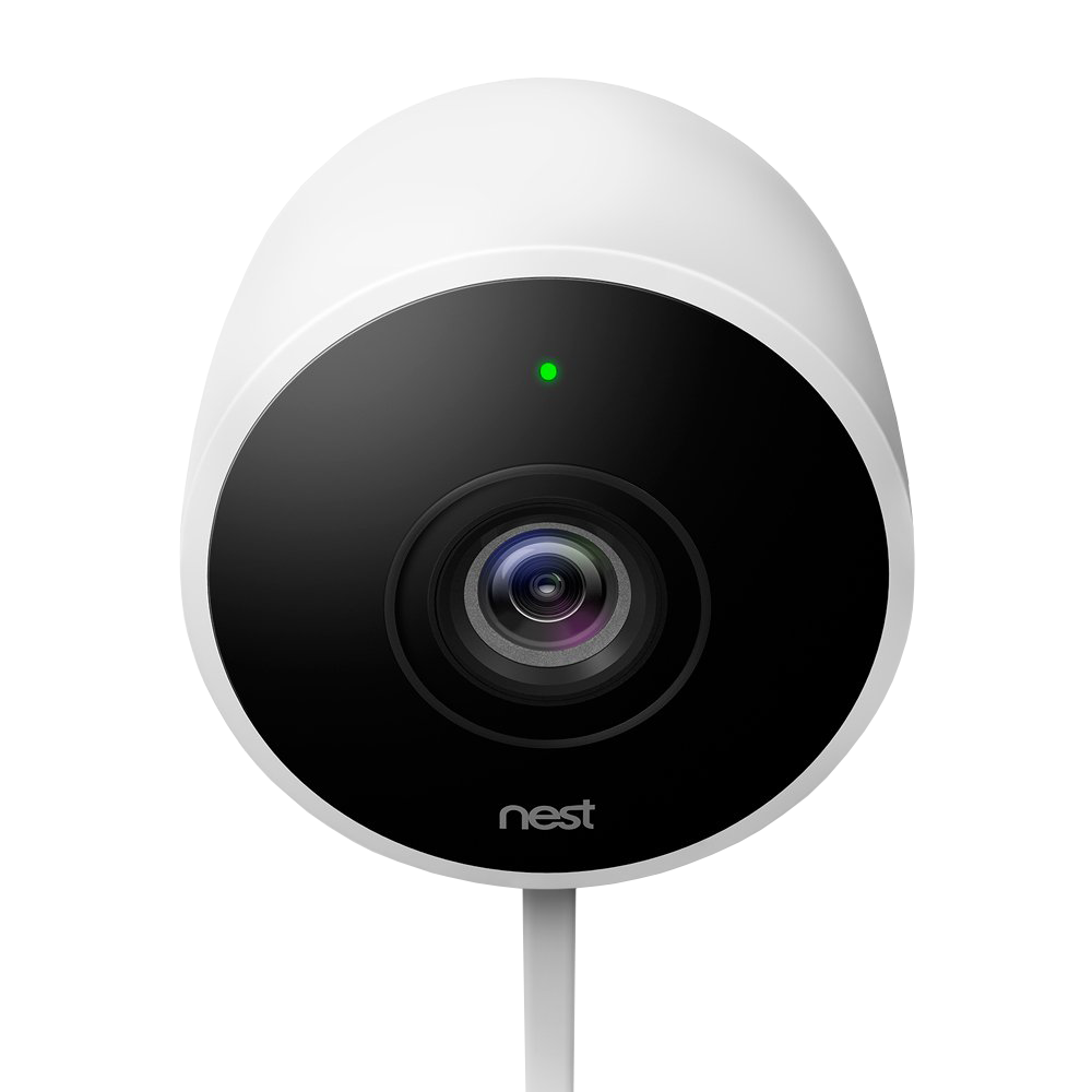 NEST Cam Outdoor Security Camera - White