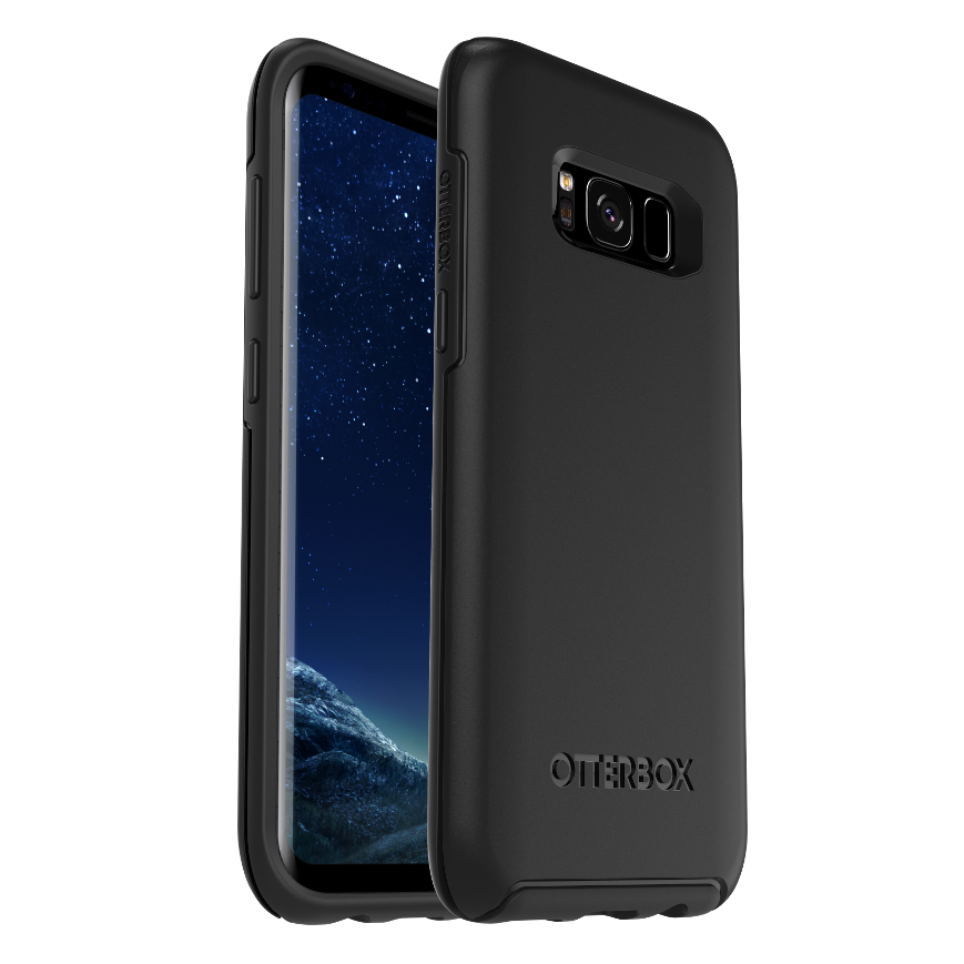 OtterBox Symmetry Cover for Galaxy S8 - Black