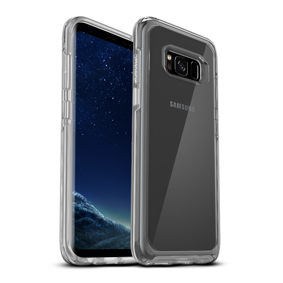OtterBox Symmetry Clear Cover for Galaxy S8 Plus - Clear