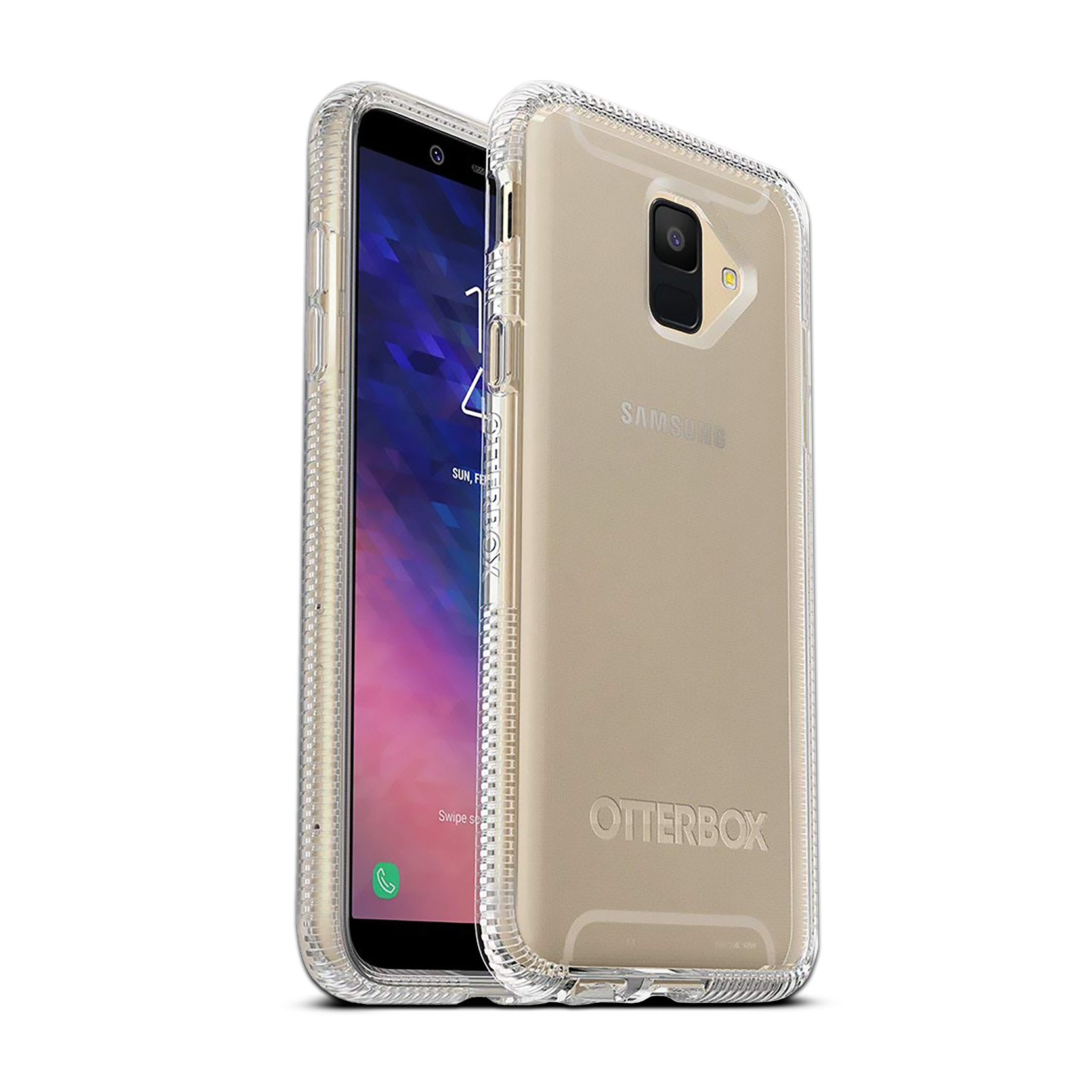 OtterBox Prefix Cover for Galaxy A6 - Clear