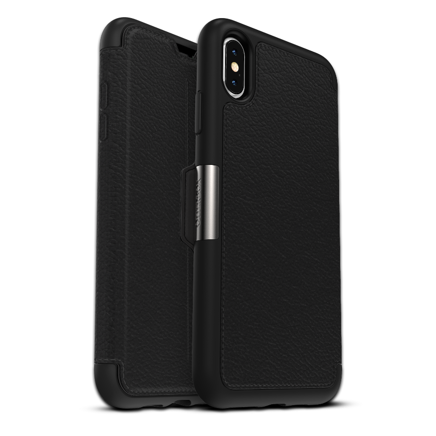 OtterBox Strada Case for iPhone XS Max - Black