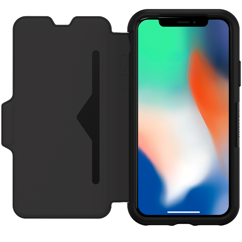 OtterBox Strada Case for iPhone X - Black