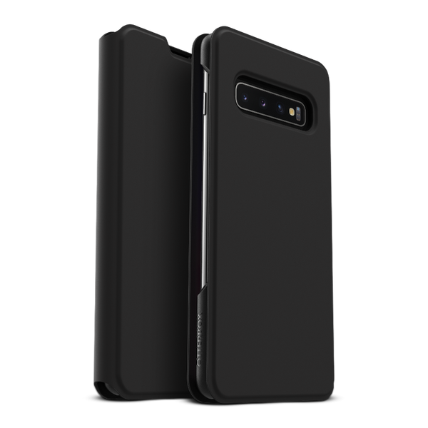 OtterBox Strada Via Case for Galaxy S10 - Black Night