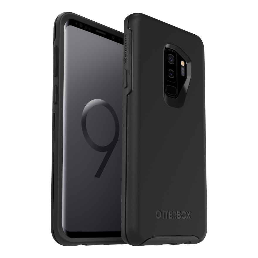 OtterBox Symmertry Cover for Galaxy S9 Plus - Black