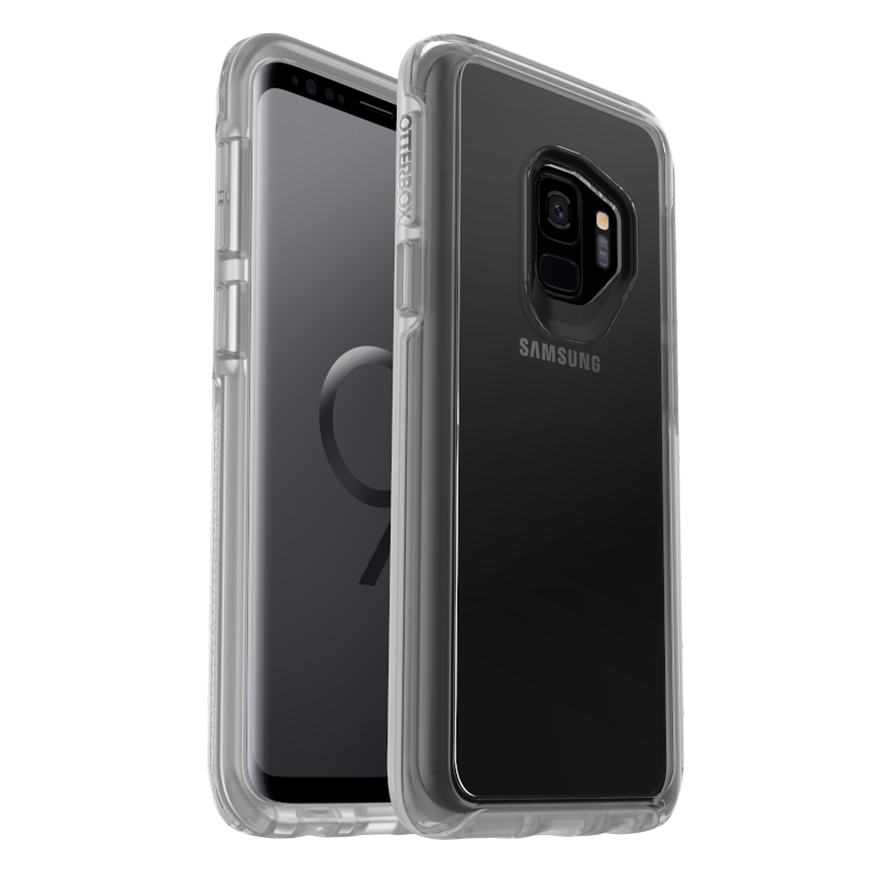 OtterBox Symmetry Cover for Galaxy S9 - Clear