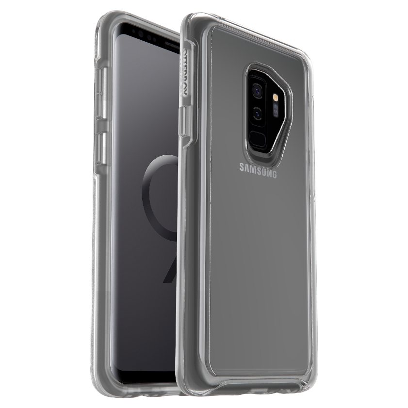 OtterBox Symmertry Clear Cover for Galaxy S9 Plus - Clear