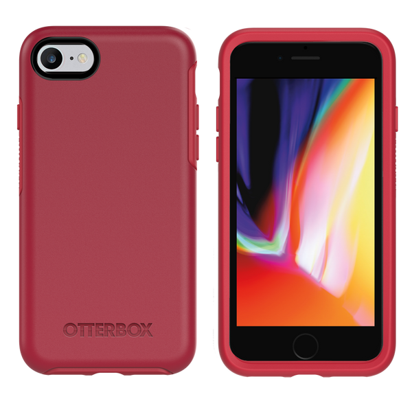 OtterBox Symmetry Case for iPhone 6/6s/7/8 - Red