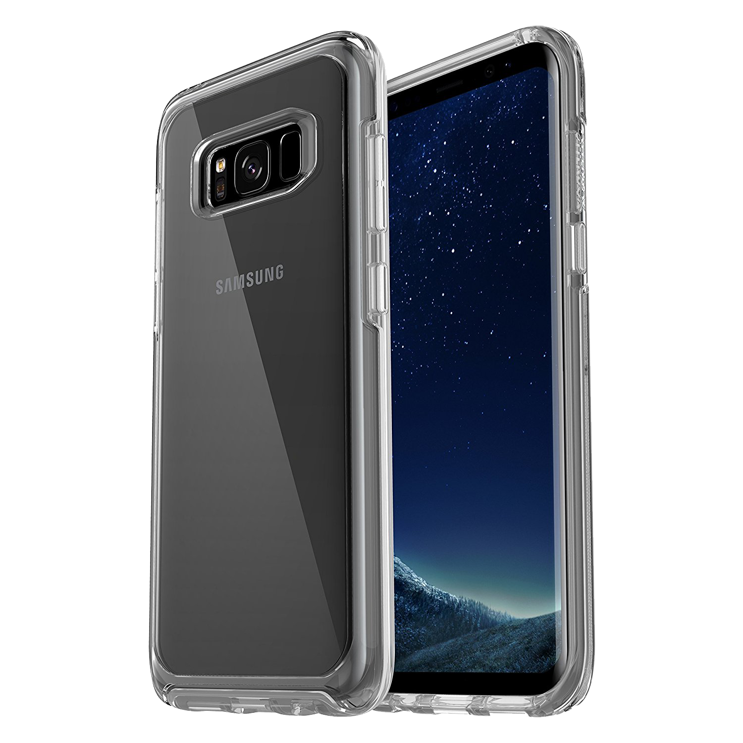 OtterBox Symmetry Clear Cover for Galaxy S8 - Clear