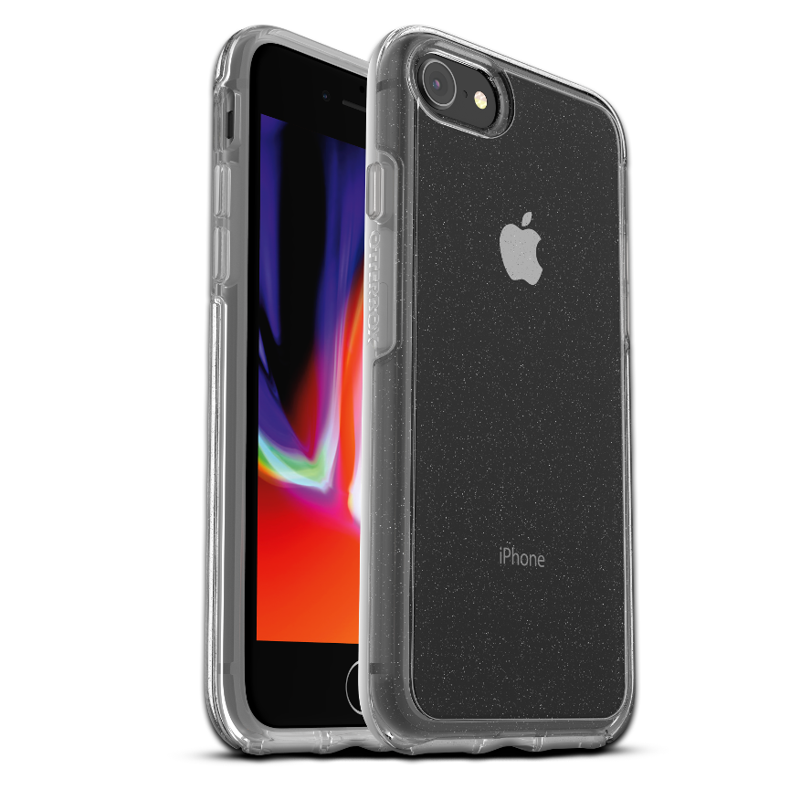 OtterBox Symmetry Clear Cover for iPhone 7/8 - Clear Stardust