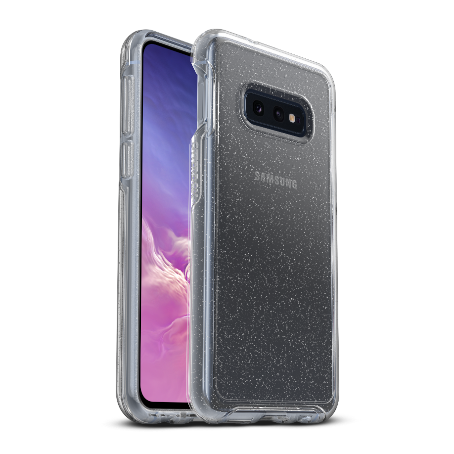 OtterBox Symmetry Clear Cover for Galaxy S10e - Stardust Clear