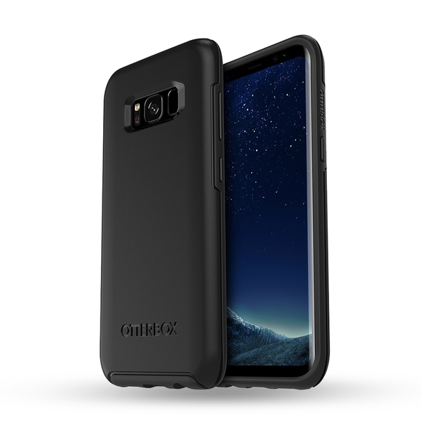OtterBox Symmetry Cover for Galaxy S8 Plus -Black