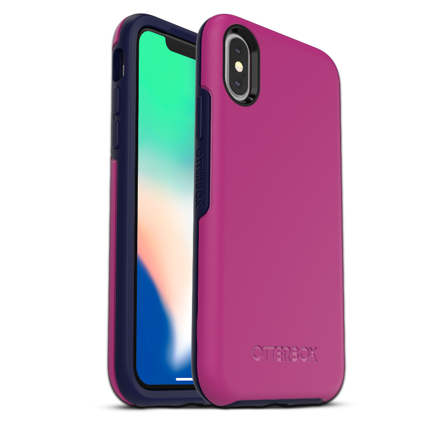 OtterBox Symmetry Cover for iPhone X/Xs - Mix Berry Jam