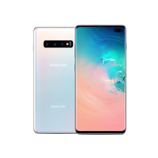 Samsung Galaxy S10+ 128GB White -  Condition Very Good