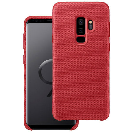 Samsung Galaxy S9 Plus Hyperknit Cover Case - Red