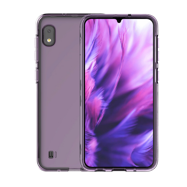 Samsung Gel Cover for Galaxy A10 - Clear-Violet