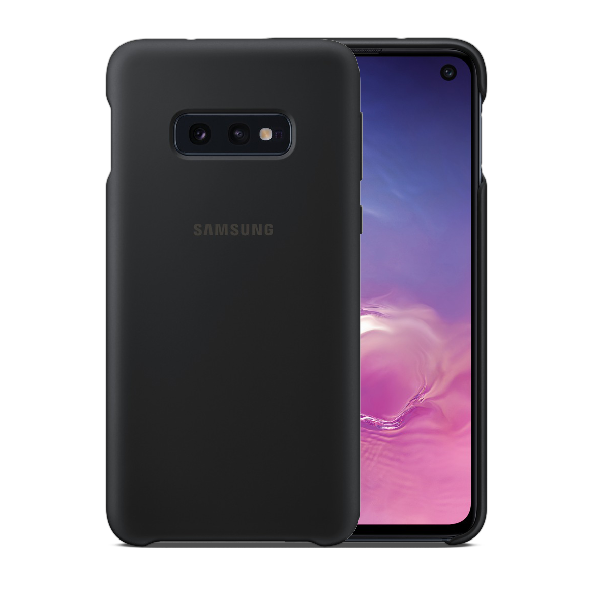 Samsung Silicon Cover for Galaxy S10e - Black