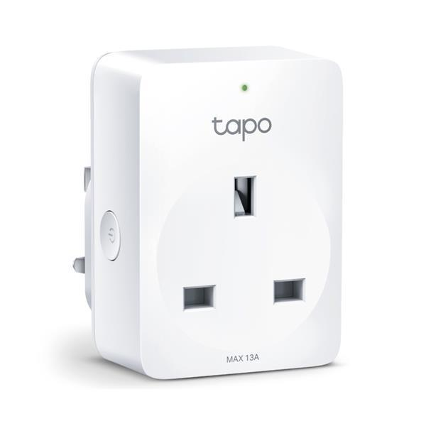 TP-Link Tapo 100 Mini Smart Wi-Fi Socket - White
