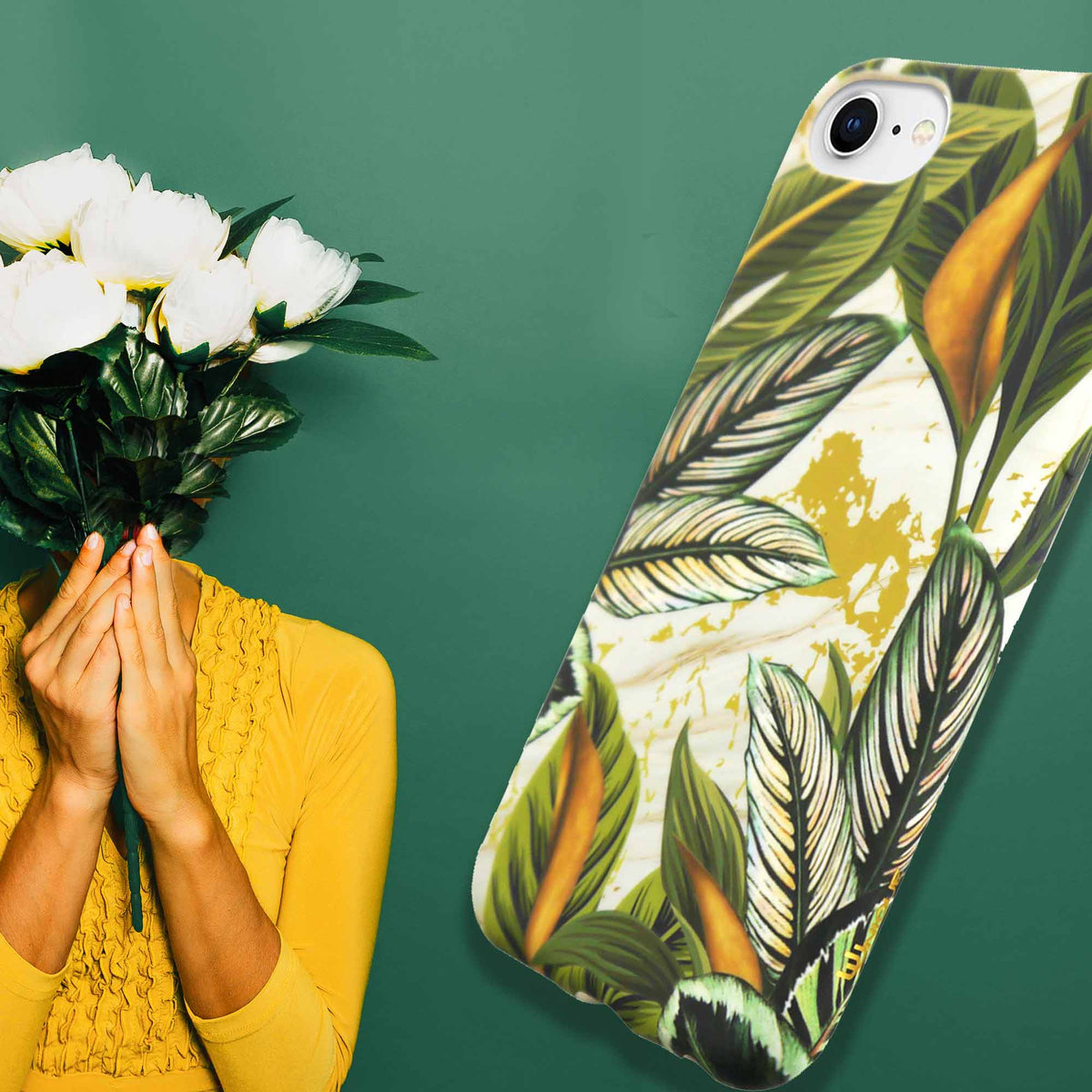Uunique Apple iPhone 6/7/8 Eco TPU Lush Leaf