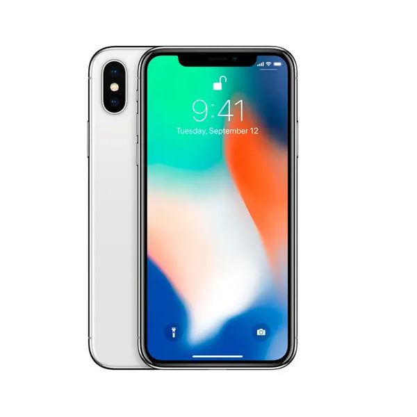 iPhone X 64GB Silver - Condition Very Good
