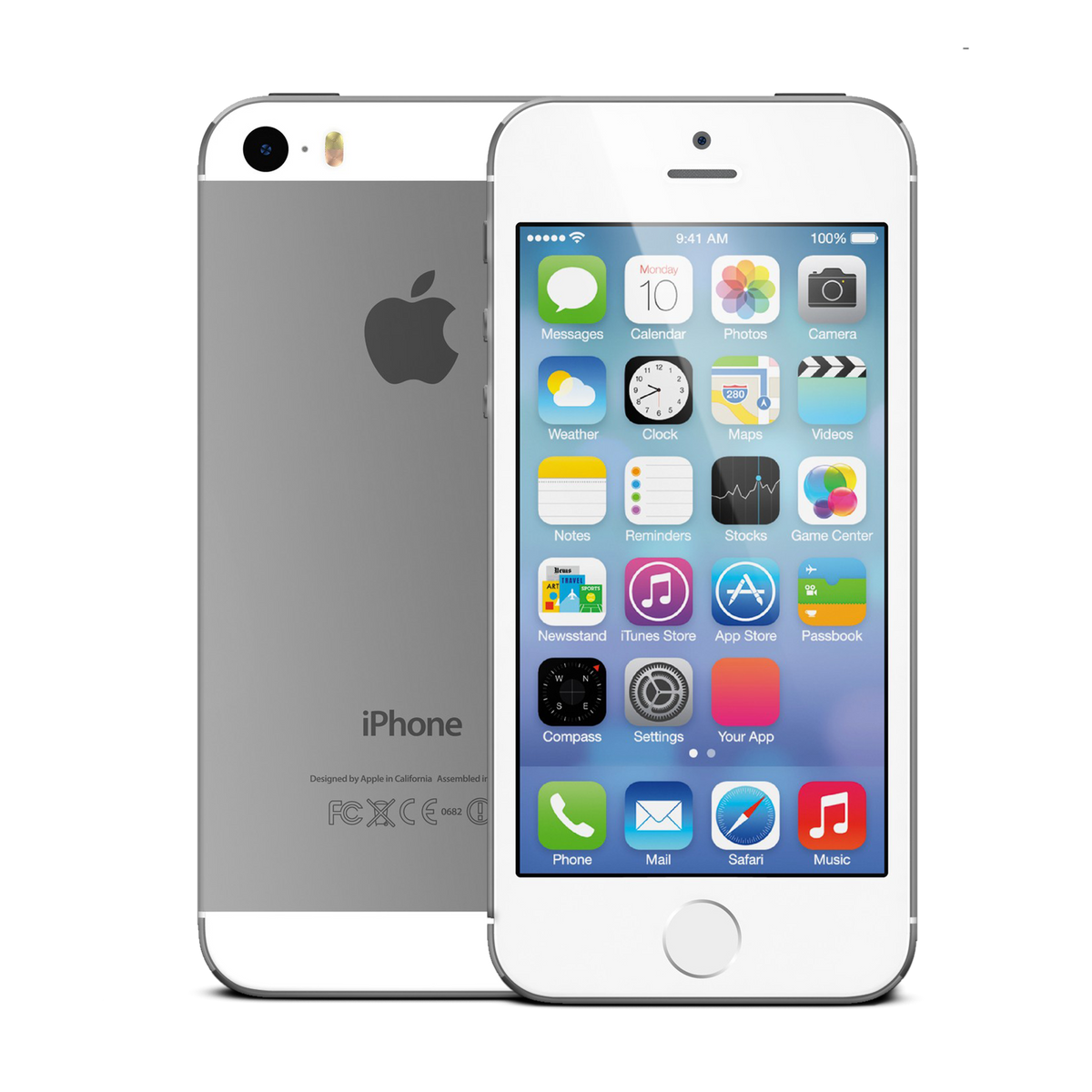 iPhone 5s 16GB Silver | Very Good