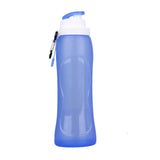 500ML Foldable Silicone Water Bottle And BPA Free