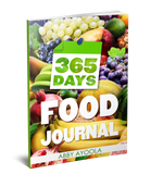 365 Day Food Journal.