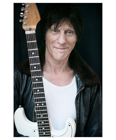 Jeff Beck - Scarlet Page - Limited Edition Prints