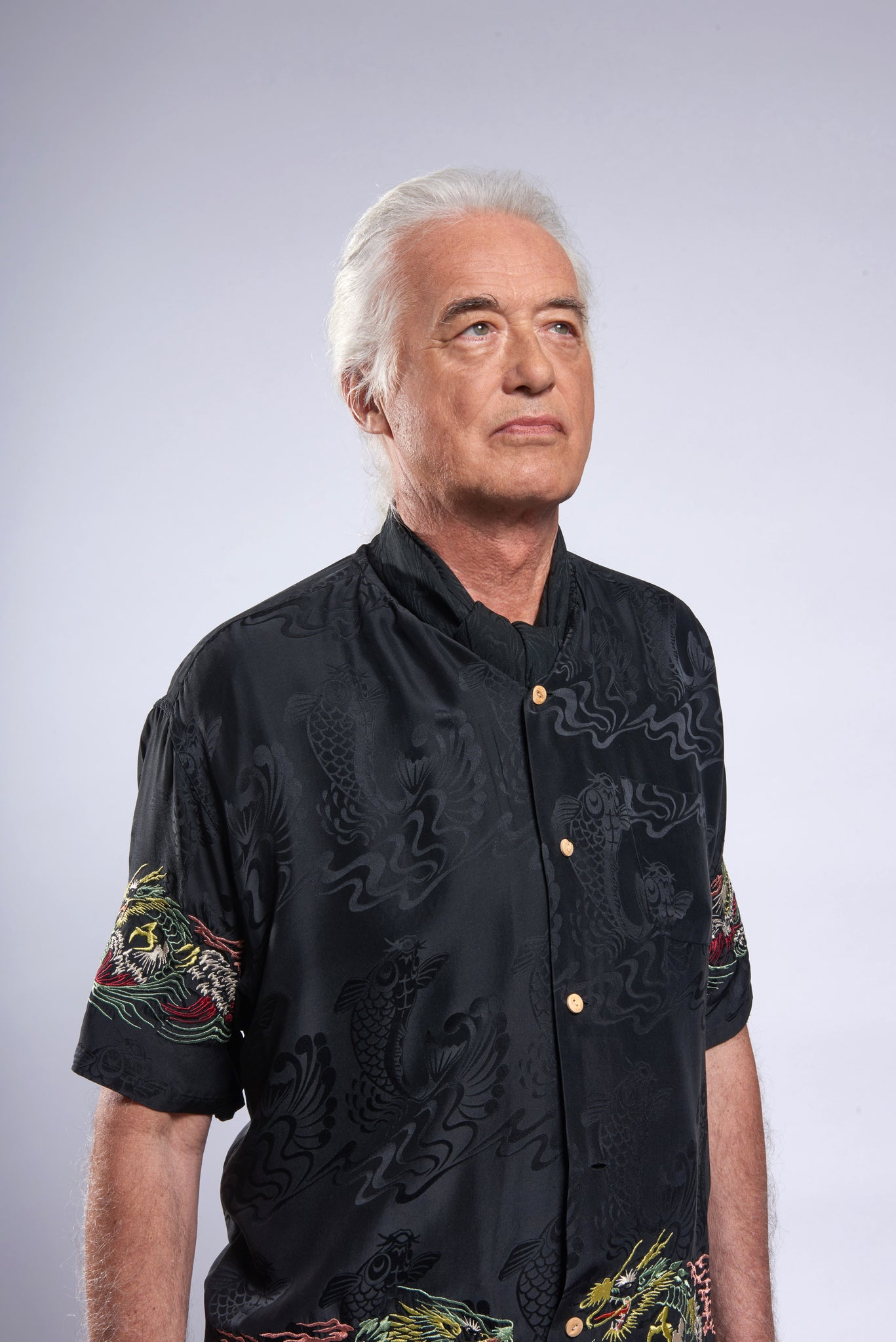 Jimmy Page - Led Zeppelin 50 years anniversary portrait
