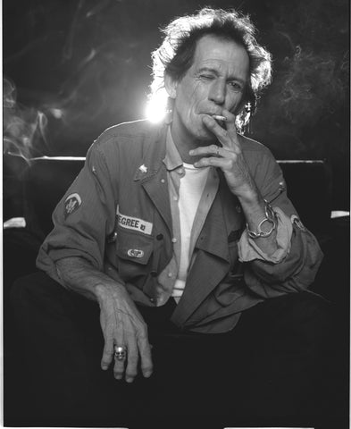 Keith Richards - smoking