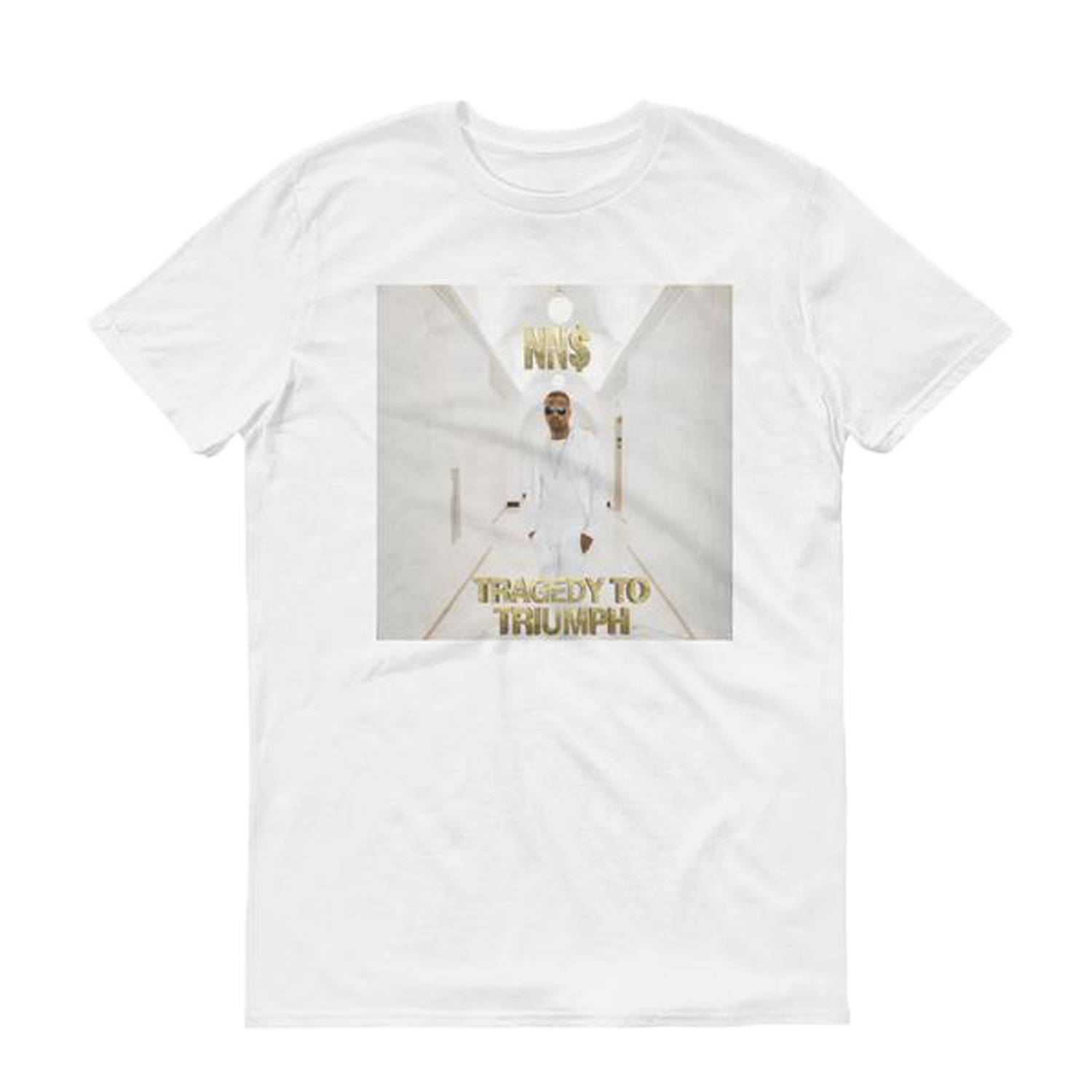 Men's NN$ Tragedy to Triumph Album Cover T-Shirt