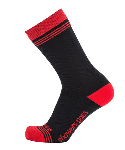 CROSSPOINT WATERPROOF CREW SOCKS CHILI