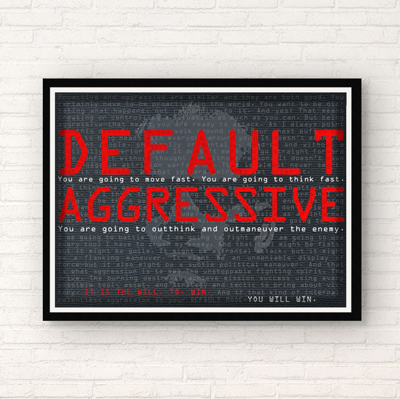 Jocko | Default Aggressive - Horizontal