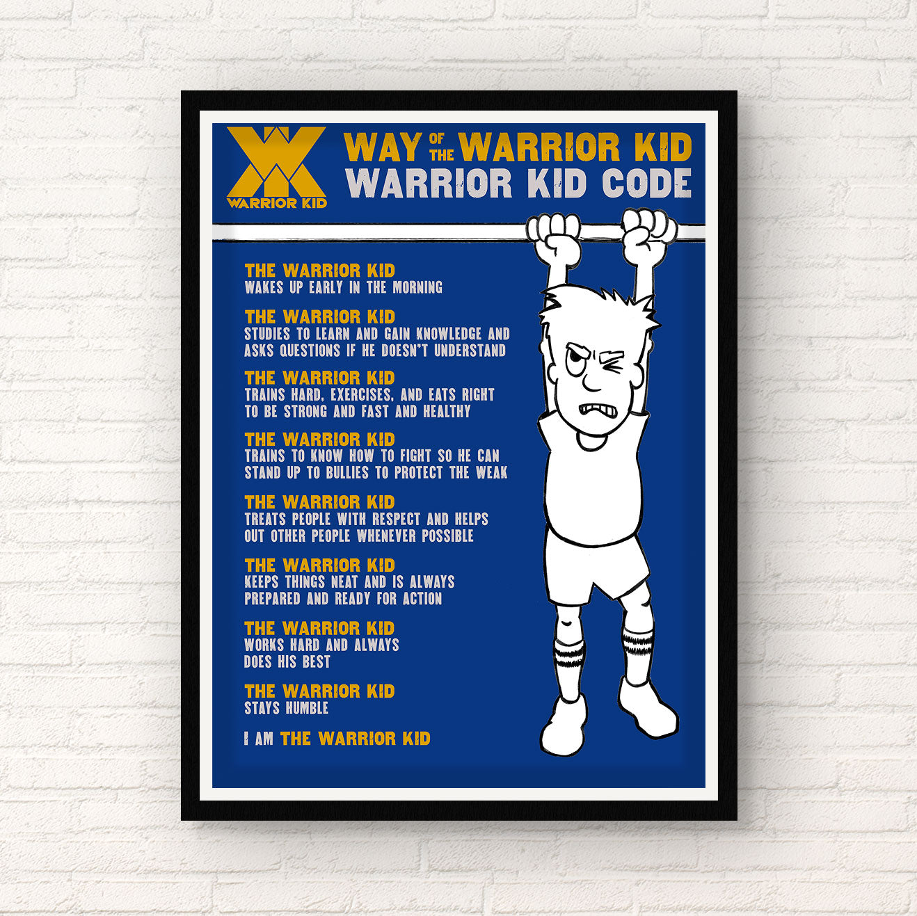 [SIGNED] Jocko | Way of the Warrior Kid Warrior Kid Code