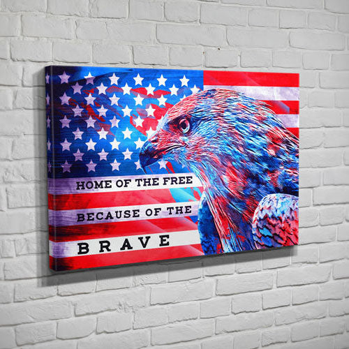 Home Of The Free Eagle