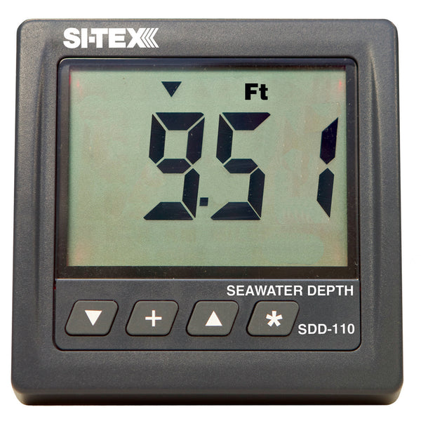 SI-TEX SDD-110 Seawater Depth Indicator - Display Only [SDD-110]
