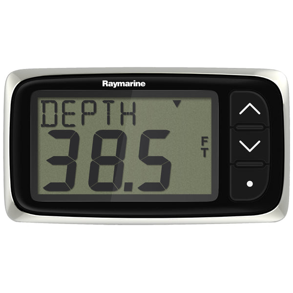 Raymarine i40 Depth Display System w-Transom Mount Transducer [E70143]