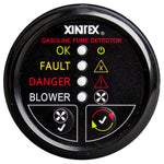 Xintex Gasoline Fume Detector & Blower Control w-Plastic Sensor - Black Bezel Display [G-1BB-R]